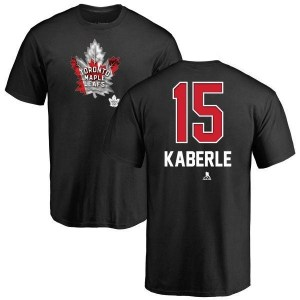 Tomas Kaberle Toronto Maple Leafs Youth Black Name and Number Banner Wave T-Shirt -